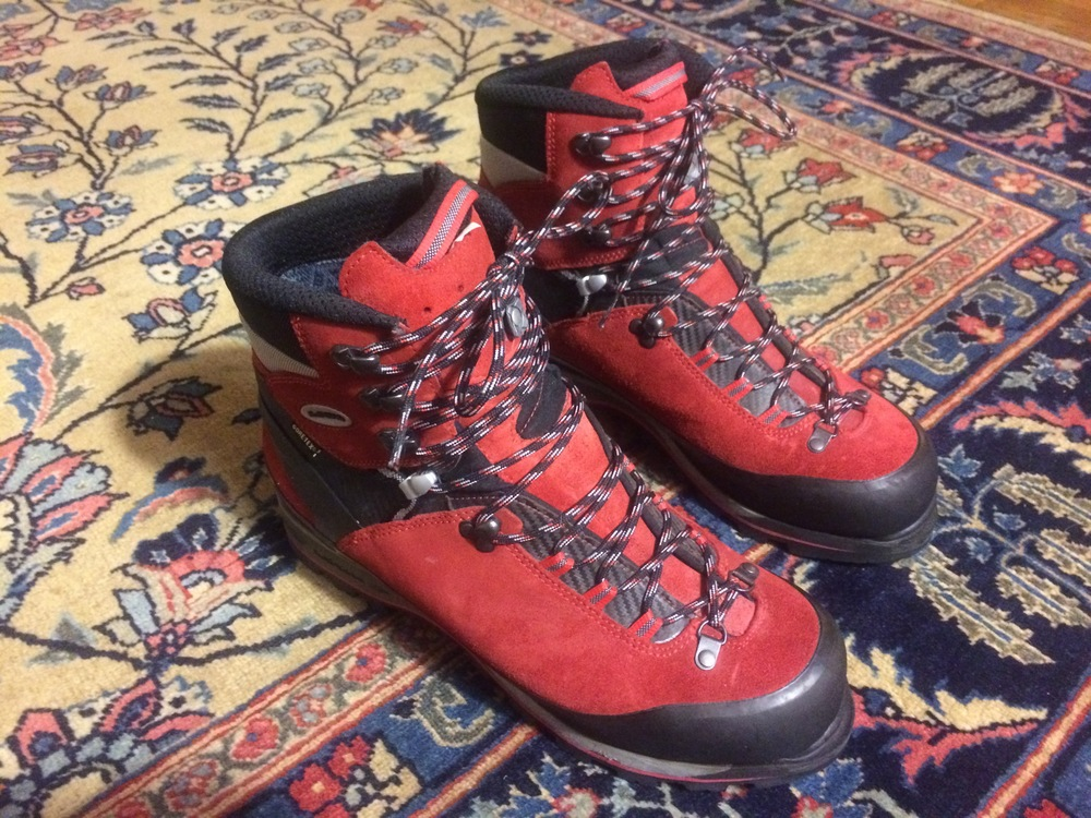 Ice Climbing Boots - Lowa Mountain
