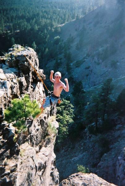 Climber: Ronnie Pitsor<br>
