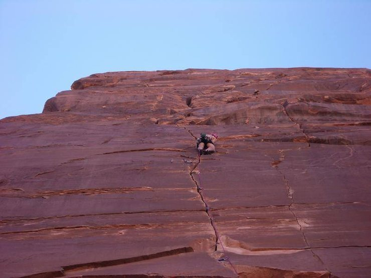 Stefan Griebel on the first pitch of Pale Fire