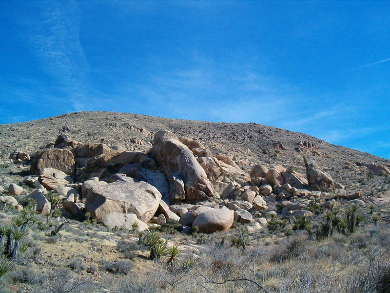 Becky's Buttress Area, Joshua Tree NP