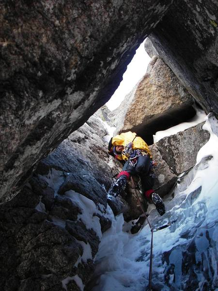 Crux of Alexander's in lean conditions.