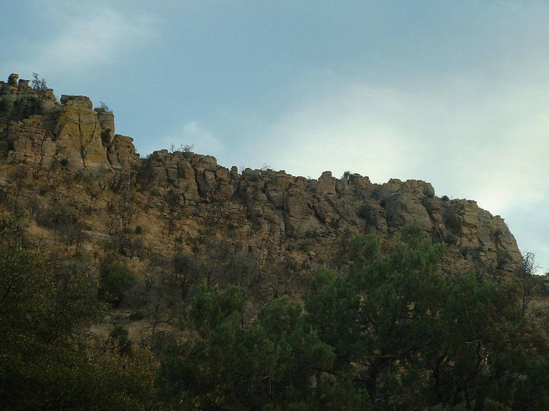 Boothill area,the Green Monster Crack is on the far left.