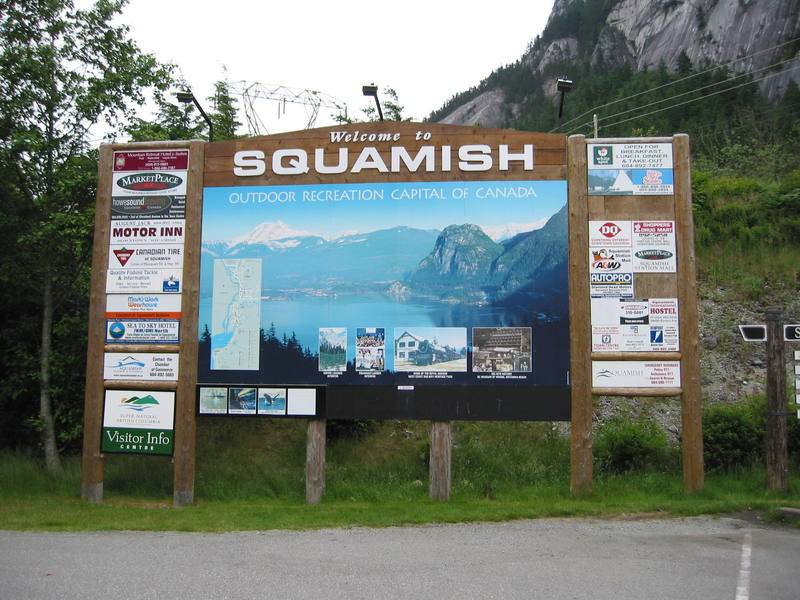 Welcome to Squamish!