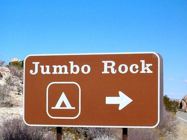 Jumbo Rock CG, Joshua Tree NP