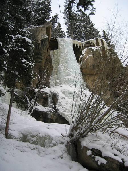 Hidden Falls...2/19/2006.