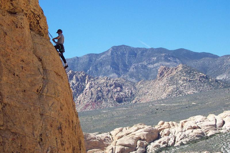 Sport Climbing in Red Rock Canyon
