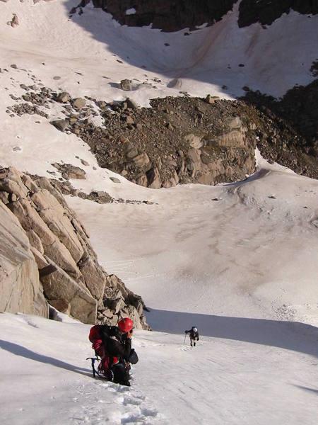 Lambs Slide - Longs Peak