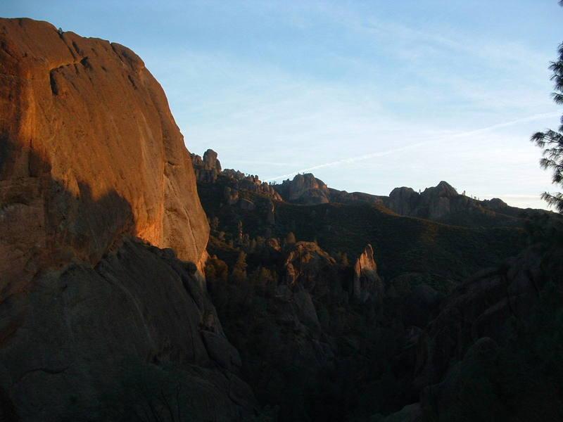 Machette ridge