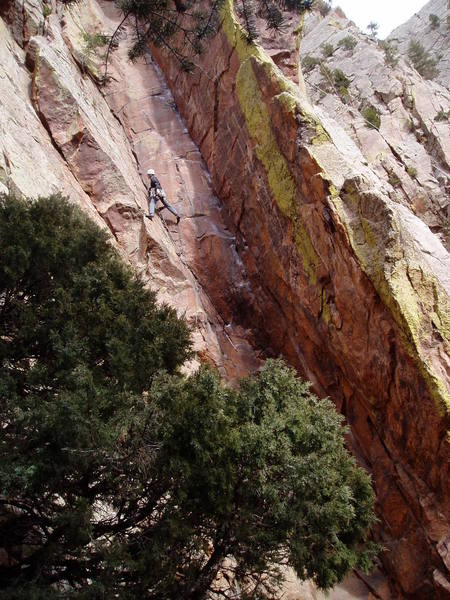Above what we thought would be the crux.