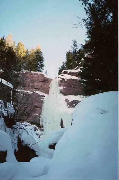 Redstone Pillar, January 2004.