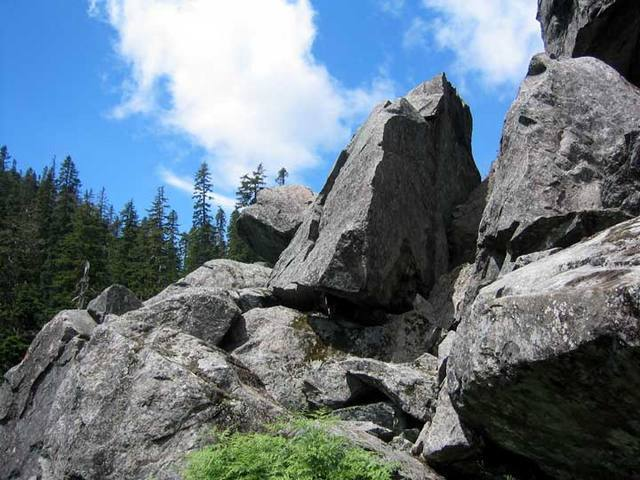 Bald Mounatin Boulders