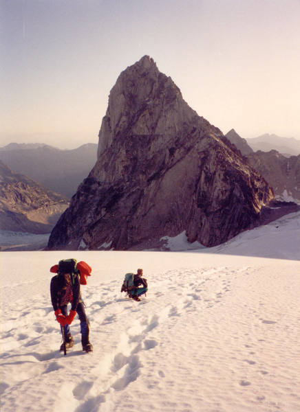 Bugaboo Spire from the Vowell Glacier