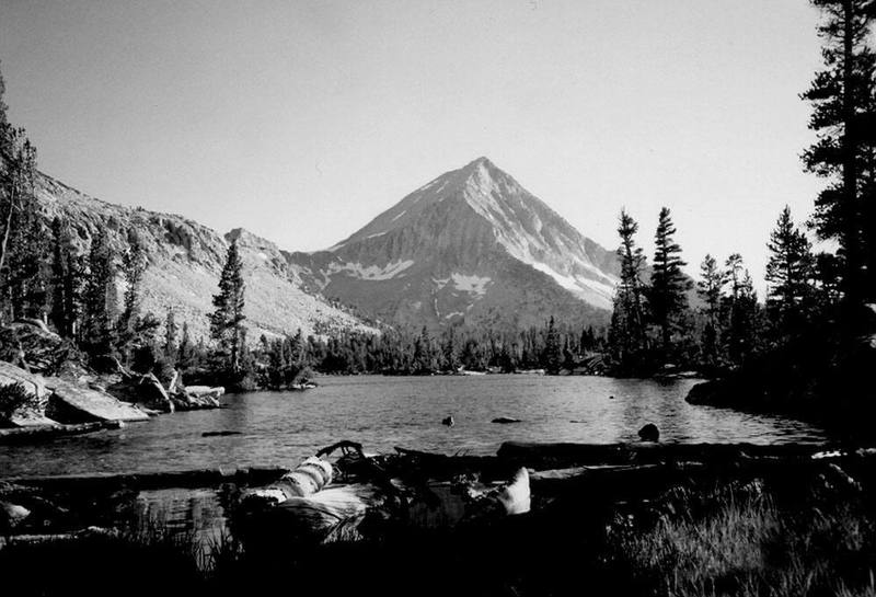Classic Arrow Peak from the beautiful and remote Bench Lake. (c) Noreen Owen