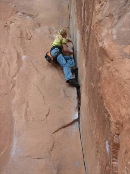 Sierra Climbing 30 seconds over postash age 9