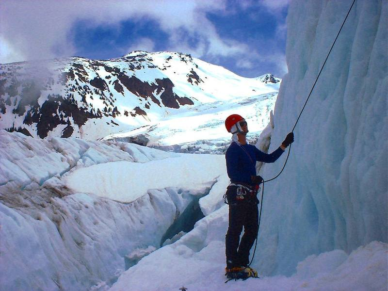 Another Day at the Office, Mount Baker -- Cascades