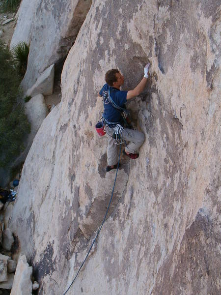 Get Right or Get Left (5.9), Joshua Tree NP