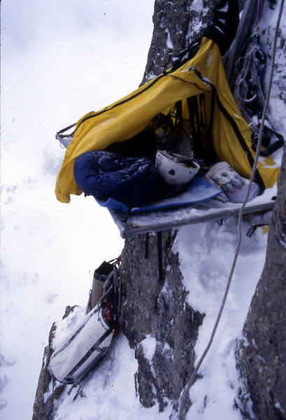The first ascent, first attempt. Good times.