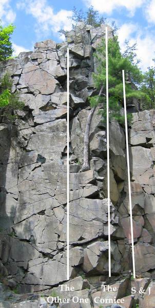 Tourist Rocks Area