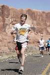Chuck getting it done in the Moab Half