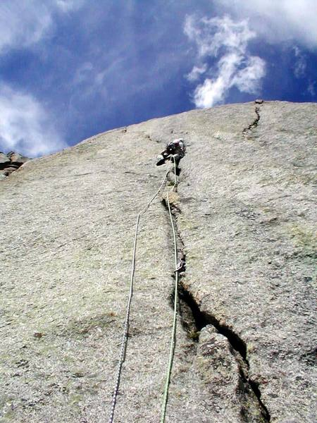 Sweet 5.8 crack section