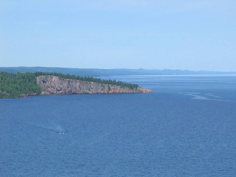 Shovel Point as seen from Palisade Head.