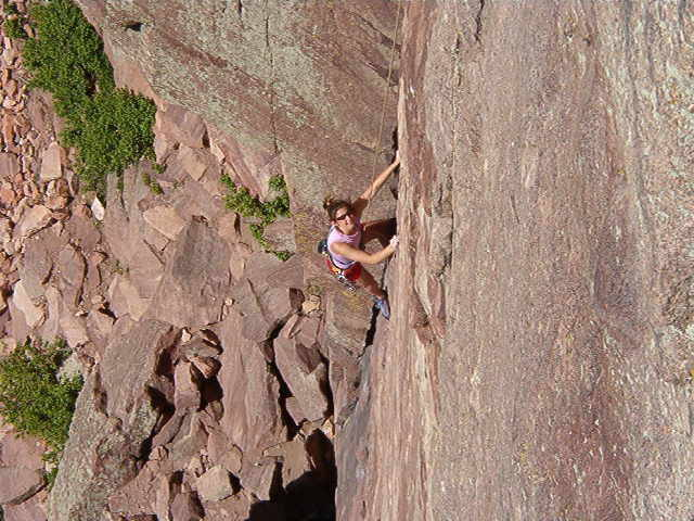 Rebecca on the first pitch of Calypso.