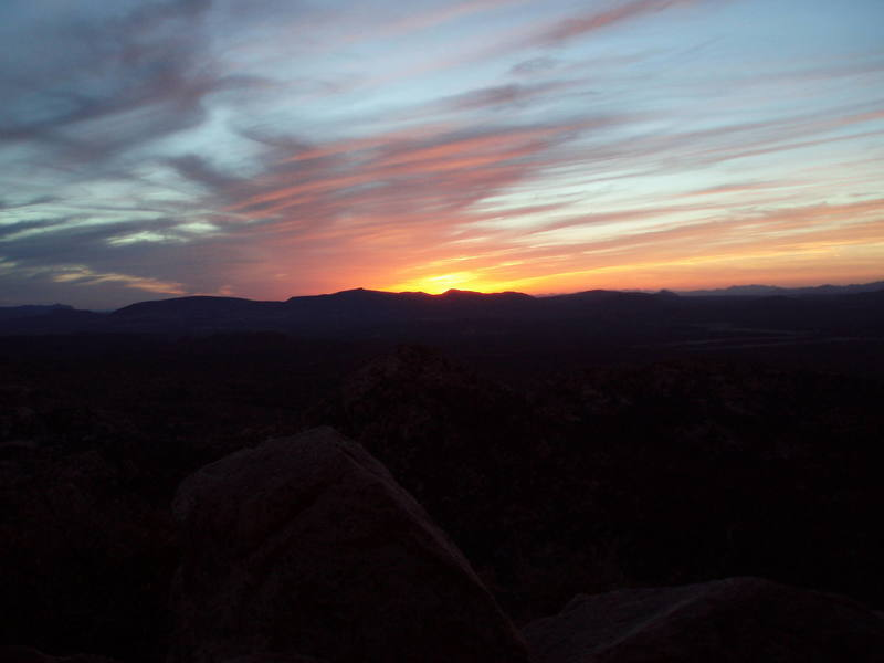 wow sunset!