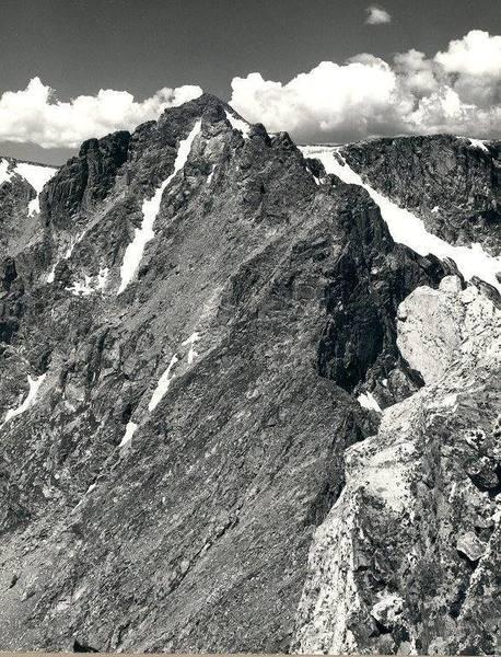 Ogalalla Peak from Elktooth.