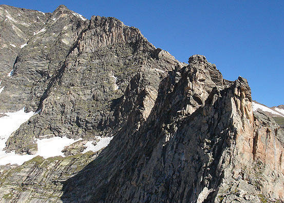 'Aces high' and the final approach ridge of the Blitzen.
