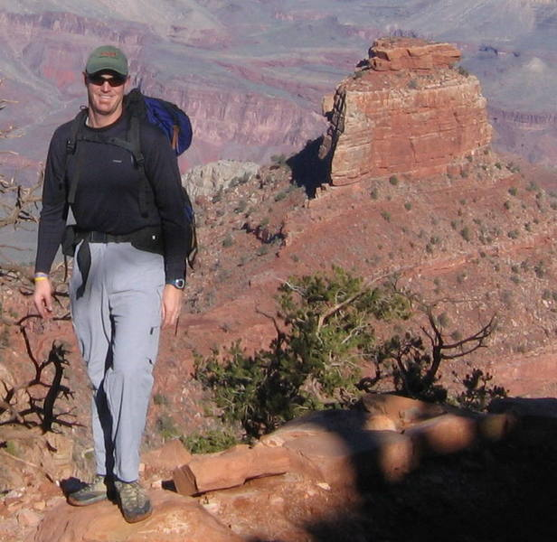 Grand Canyon hiking, but just need something for my profile