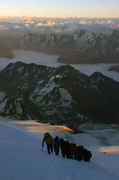 Mt Elbrus ascent 7/06