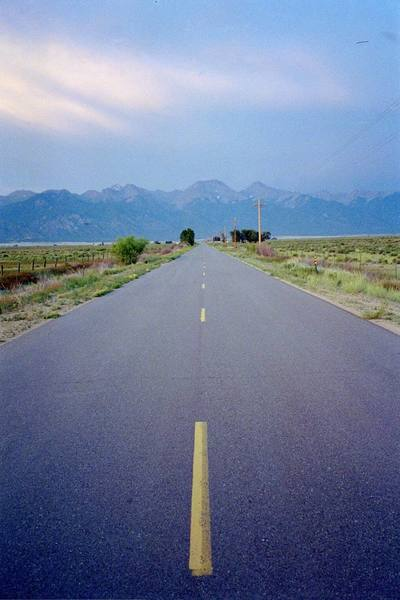 Road to Crestone.