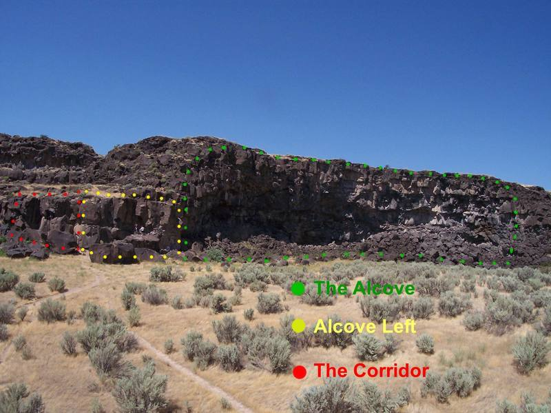 The Corridor, Alcove Left, The Alcove