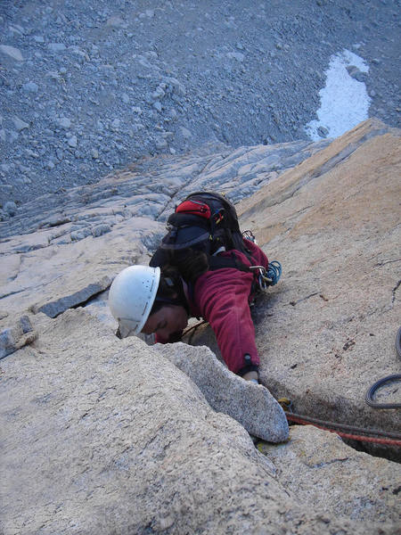 Erica M nears the end of Pitch 2.