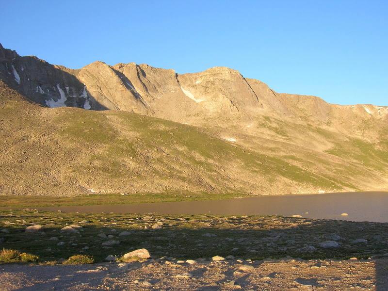 Beautiful morning at Summit Lake.