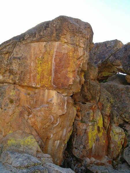 Incinerator Wall, Holcomb Valley Pinnacles