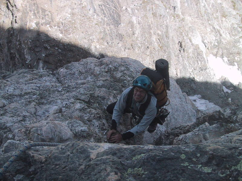 Dougald MacDonald at the end of the first Italian Crack pitch.