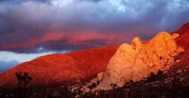 Saddle Rocks at sunset.<br> Photo by Blitzo.