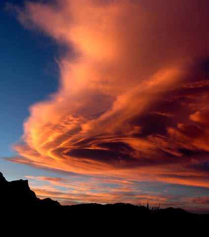 Red Rocks sunset.<br> Photo by Blitzo.