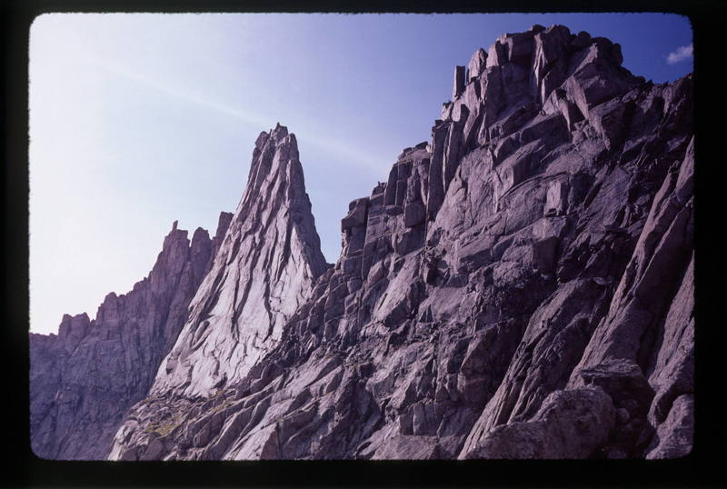A view of the East Ridge.