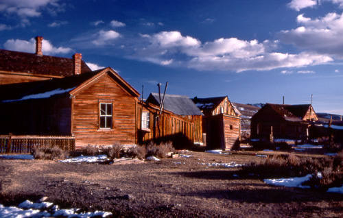 The ghost town, Bodie.<br> Photo by Blitzo.