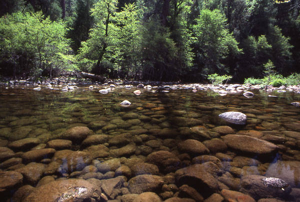 Merced River-Happy Isles.<br> Photo by Blitzo.