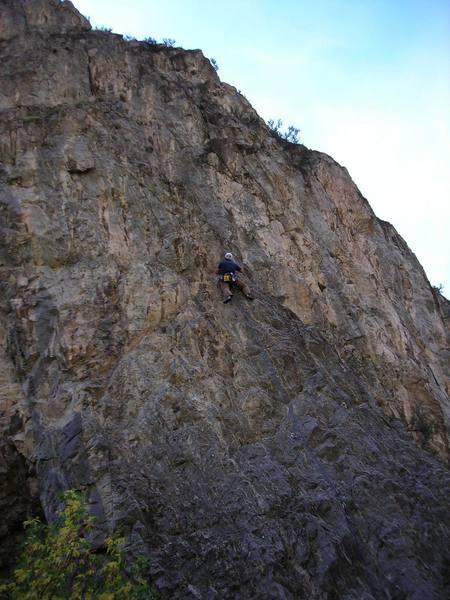 Nearing the top of Jugular.