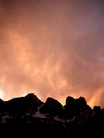 Sunset in the Cirque.<br> Photo by Blitzo.