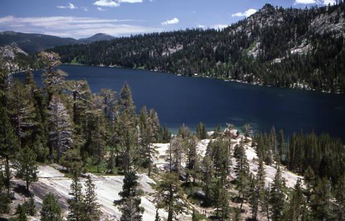 Echo Lake.<br> Photo by Blitzo.