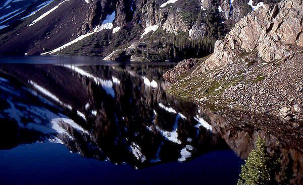 Ellery Lake.<br> Photo by Blitzo.