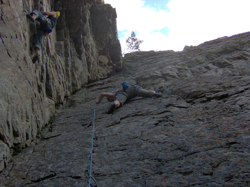Challenge Buttress East Wall