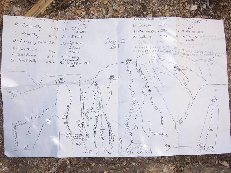 The routesetters kindly left a summit register with this at the base of the wall.