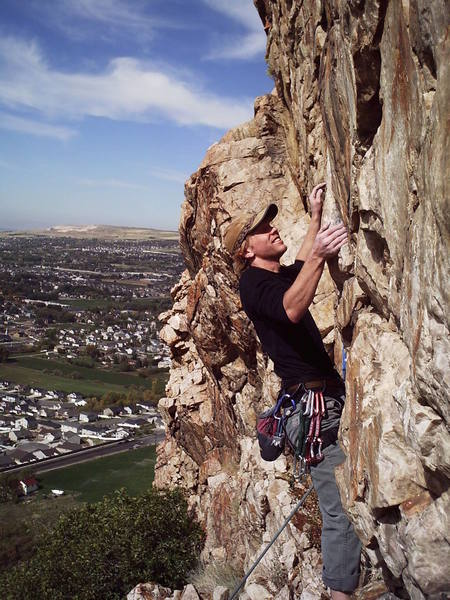 Greg leading a 10c at the Sun Deck.