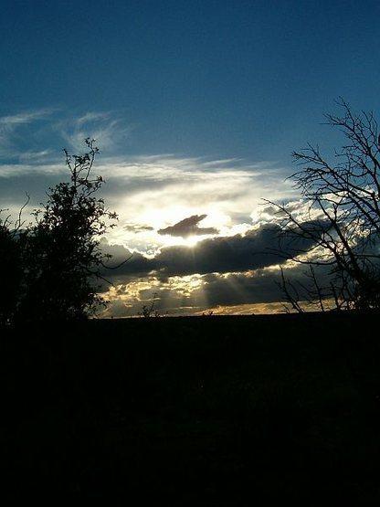 Sunset, Jacks Canyon